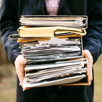 Service d'entreposage de documents